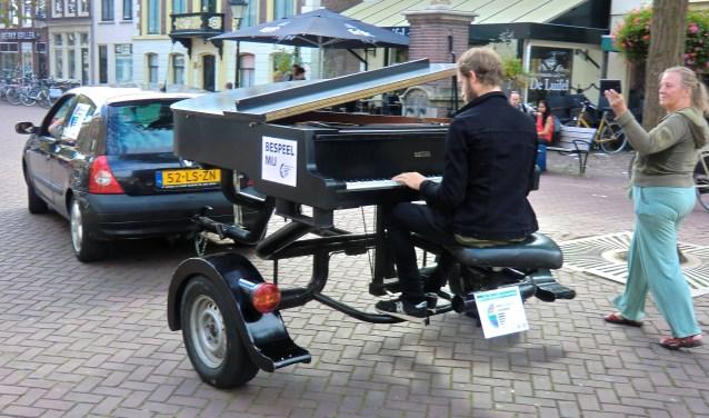 Rondrijdende piano
