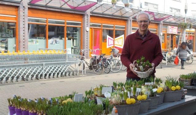 Voorzitter van de winkeliersvereniging Cees Pels. FOTO: Winny van Rij