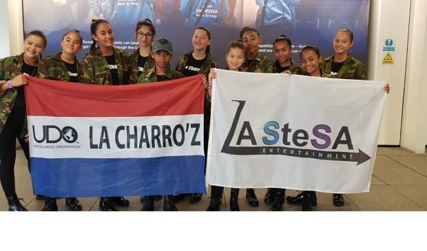 De la Charro'z van dansschool La SteSa uit Almelo hebben een verdienstelijke achtste plaats behaald op het WK in Glasgow