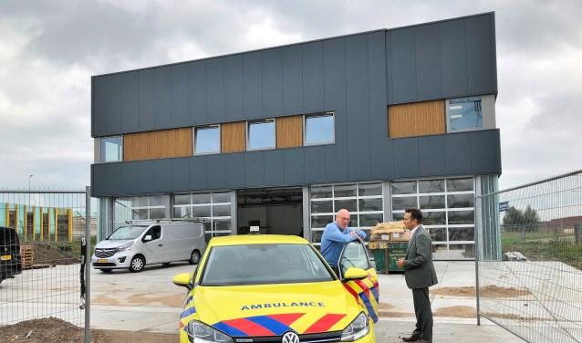 De nieuwbouw in Papendrecht herbergt niet alleen de uitrukpost, maar ook alle ondersteunende kantoordiensten. (foto: pr)