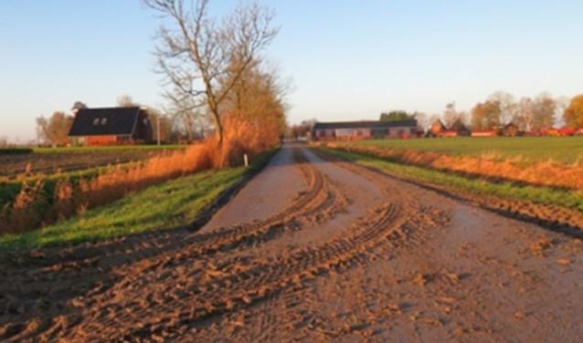 Boeren en loonwerkers zijn zelf verantwoordelijk voor het schoonhouden van de weg. (foto: pr)