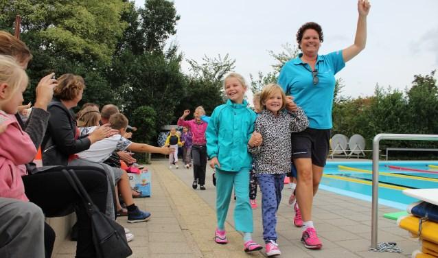 Opvallend veel kinderen hebben zowel het B- als het C-diploma van het landelijke ZwemABC gehaald