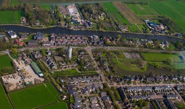 Watertoren en park Breukelen Noord