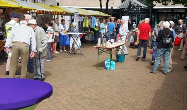 Vrijdag is er een vrijwilligersmarkt met veel informatie. (Foto: PR)