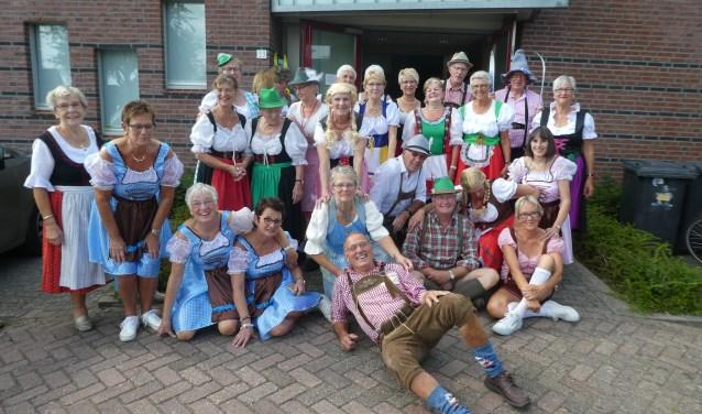 35 jarig bestaan van de Zonnebloem Cothen/Langbroek FOTO: Janny van Eldik