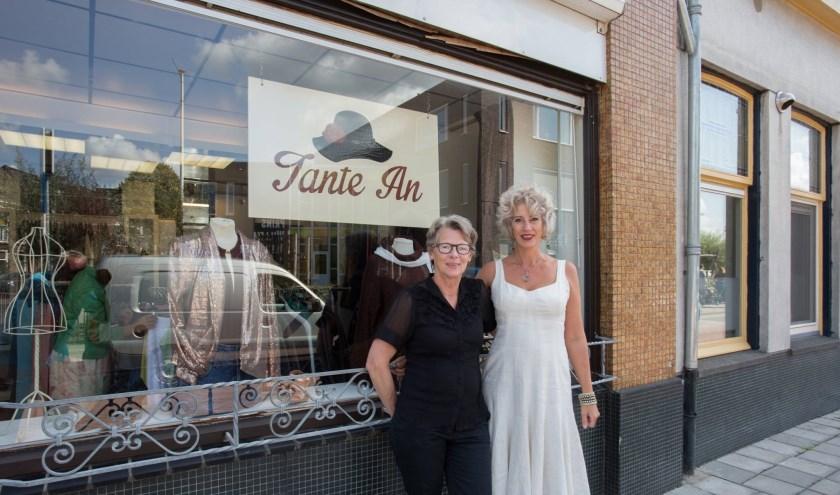 Anje Wierenga en Jeanette van Dijk.