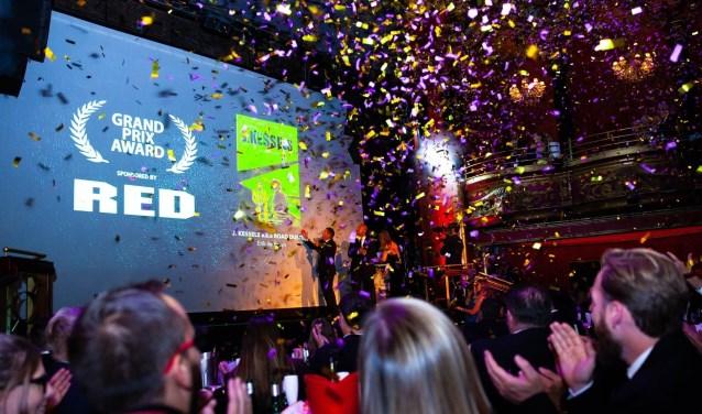De roadmovie 'J. Kessels' heeft op het afgeronde festival 'International Motor Film Awards' in Londen zowel de Grand Prix als beste film als de award voor 'Best Drama' gewonnen.