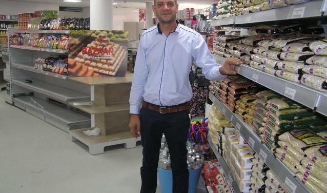 Sami Mtan levert kwaliteitsproducten die hij van ver moet halen. (foto Gerreke van den Bosch)