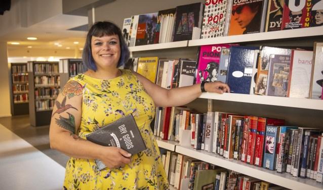 Wordt Marjolein Hordijk de Beste Bibliothecaris van Nederland 2018? Binnenkort kan er gestemd worden. (foto: Jimmy Israël)
