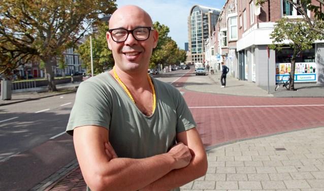 Redouane vindt Den Haag een mooie stad en hij komt er ook graag (Foto: Peter van Zetten).