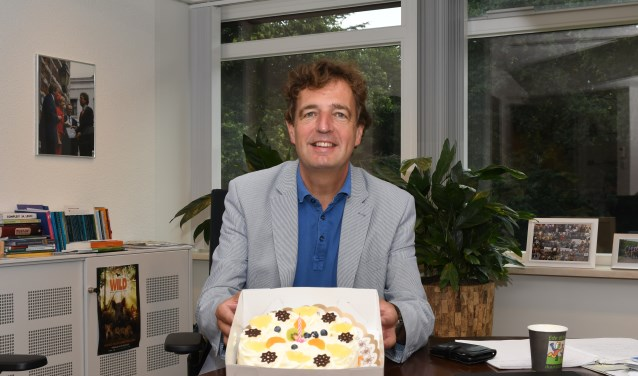 Burgemeester Verhulst 1 jaar burgemeester van Ede.
