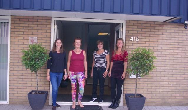 Dorien Bortels, Wilma Broeze, Nel de Boer, Helga te Boekhorst