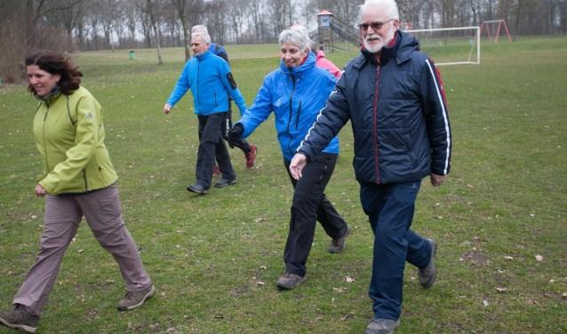 sportief-wandelen gaat ook in de winter gewoon door (Foto: KWBN)