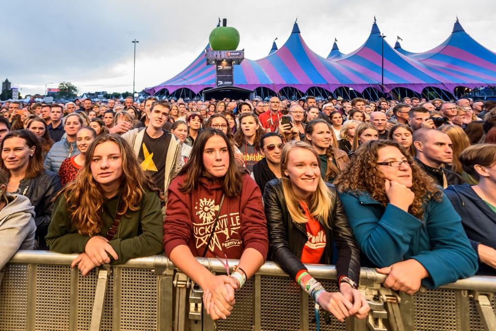 Rob Jansen Foto: publiek bij Jacqueline Govaert © Persgroep