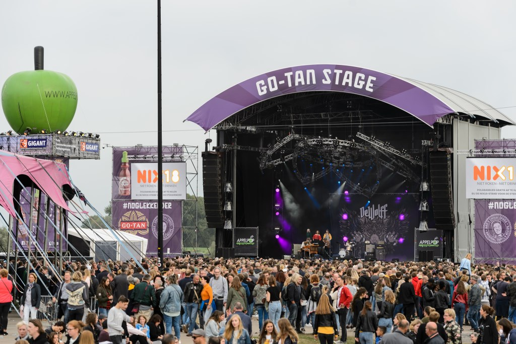 de GoTan stage Foto: Rob Jansen © Persgroep