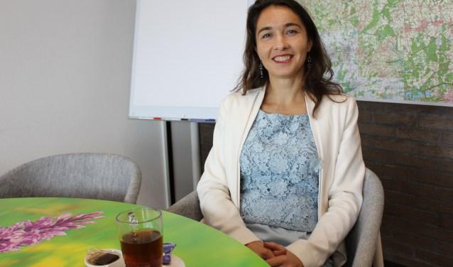 D66 Lijsttrekker voor de Provinciale Staten Anne-Marie Spierings streeft naar een mooiere wereld. Foto: Wendy van Lijssel