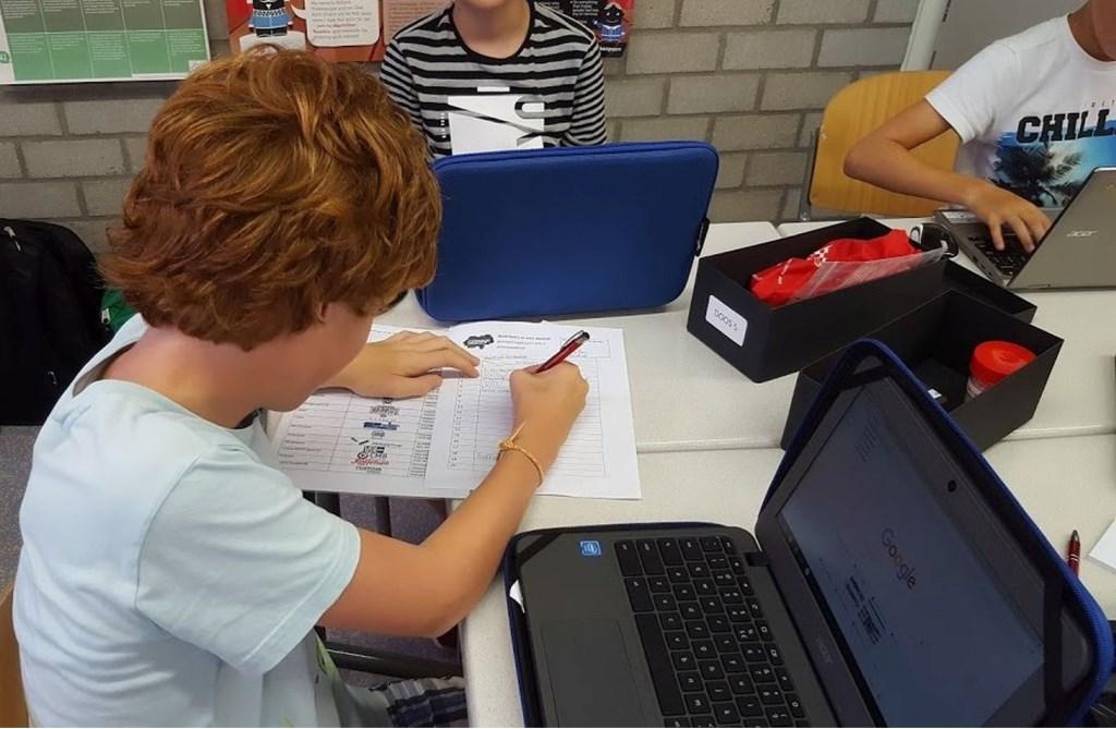 De 'Bedrijven in een doosje' geven de leerlingen meer inzicht in welke bedrijven er in de regio gevestigd zijn.
