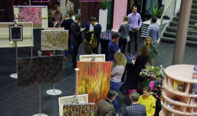 Deze reeks schilderijen heeft Gaillard vanuit haar gevoel tijdens deze heftige tijd gemaakt. Bekijk de expositie tot en met 31 januari.