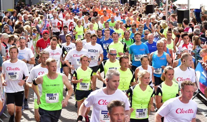 De Halve Marathon van Roosendaal is dit jaar op zondag 23 juni (foto Jack Magielse)