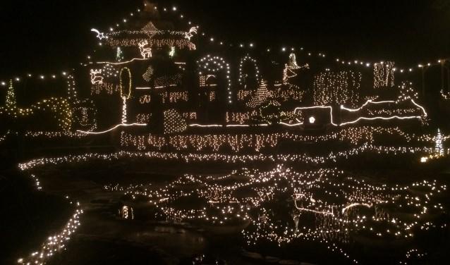 Ampies Berg in kerst sfeer