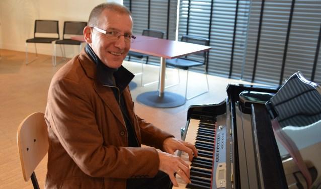 Pianist/toetsenist Martin Boskamp. (Foto Peter Boermans)