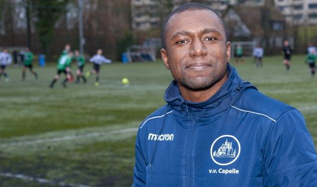 Brian Zalmijn wil met vv Capelle aan een verbeterde jeugdopleiding bouwen. (Foto: Wijntjesfotografie.nl)