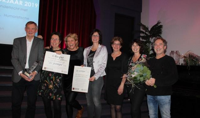 Winnaar van 'de Pompe', de organisatoren van de Zomerconcerten op 't Zand Bredevoort.