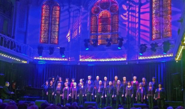 Het koor in Paradiso