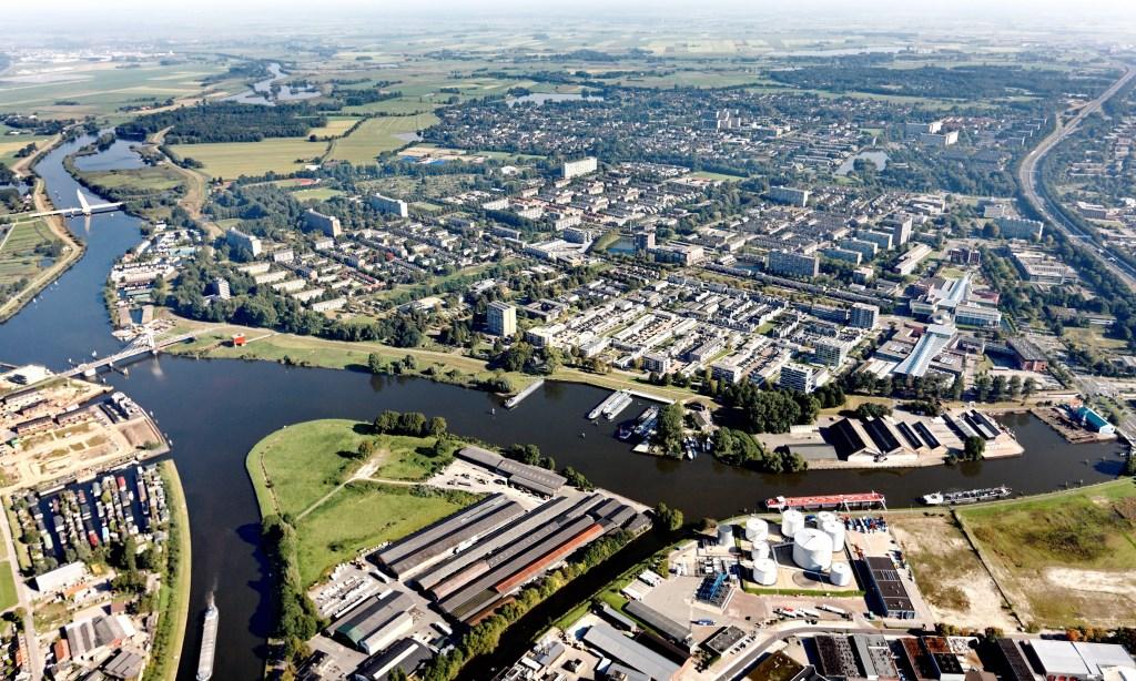 De stadsdijken bij Holtenbroek.  © Persgroep