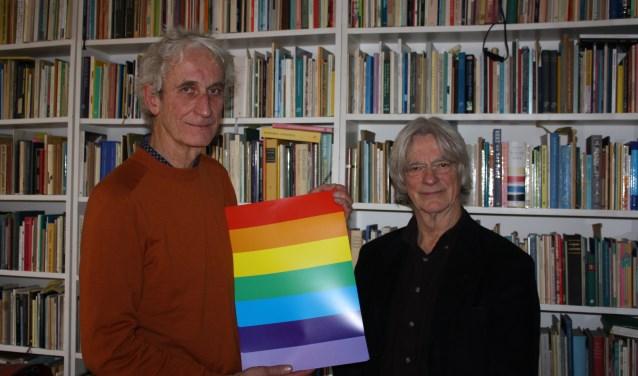 De affiche van Jan Goed en Rieks Hoogenkamp - die de vrolijkheid en veelkleurigheid uitstraalt-  is ook in de bibliotheek te krijgen.