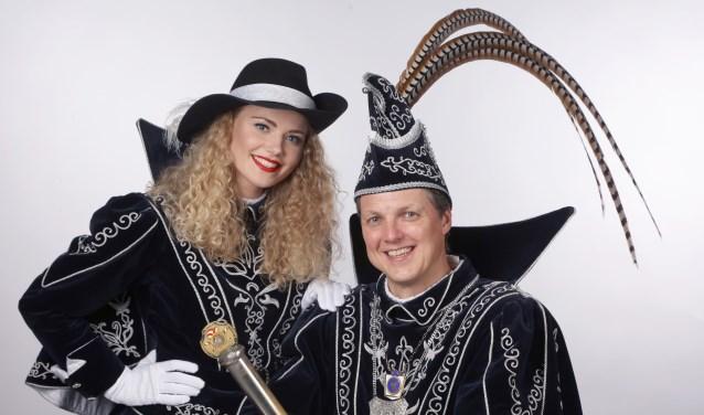 Prins Cees d'n Urste en Funkenmarieke Robinn,
