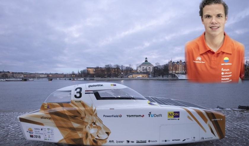 Student Lucht- en Ruimtevaarttechniek Bruno Martens uit Rosmalen is technisch manager van het Vattenfall Solar Team. Met het team probeert hij in oktober de Bridgestone World Solar Challenge te winnen.