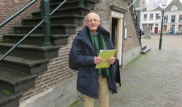"""Bernard Pekelharing: """"Op zoek naar verhalen over mijn grootvader in verband met een familiereünie komend voorjaar"""" FOTO: John Beringen"""