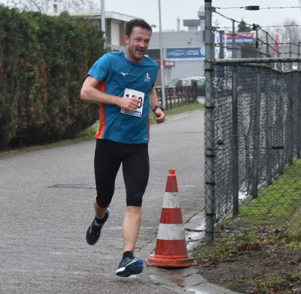 Marcel Brinks uit Nijverdal kwam als zevende over de finish met een tijd van 43.26. Foto:  © Persgroep