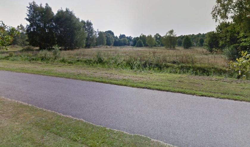 Het Isabellaveld in 2016, gezien vanaf de Postweg.