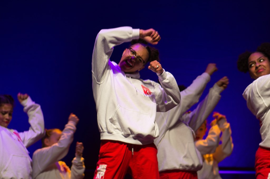 'The Big Bang' tijdens winnende dans in 013 Tilburg Foto: Ferdi Abel © Persgroep