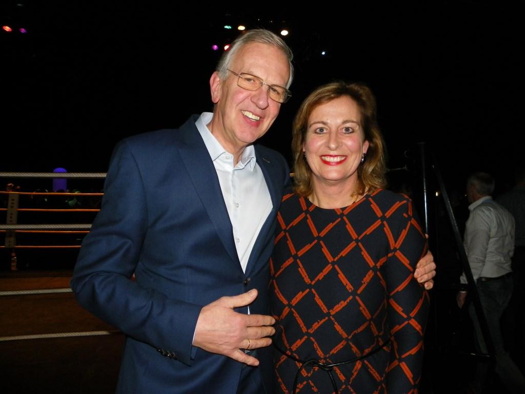 Jack en Monique Veldman van Archeon stralen na het winnen van de titel Onderneming van het Jaar Foto: Morvenna Goudkade © Persgroep
