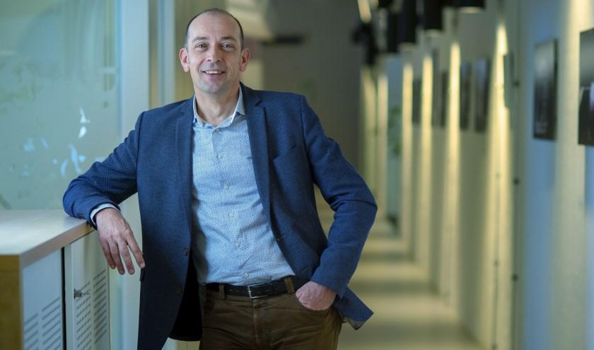 Gerrolt Ooijman, de nieuwe directeur-bestuurder van Wonion. (foto: Lode Greven)