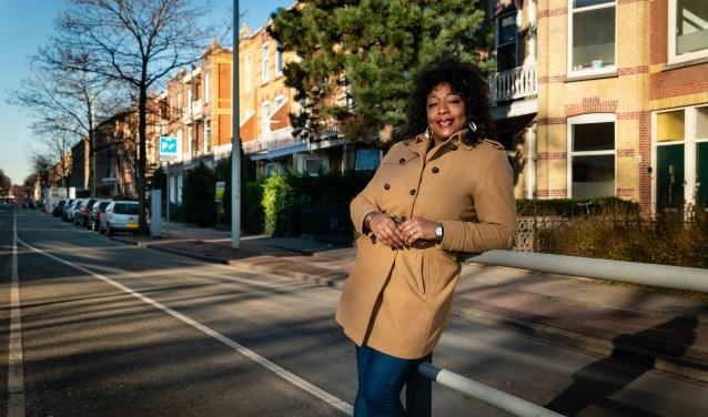 'Ik ging elke zondag naar Rollerskate Scheveningen', vertelt Mariska Lunes uit Leidschendam -Voorburg (Foto: Bram Corstjens)