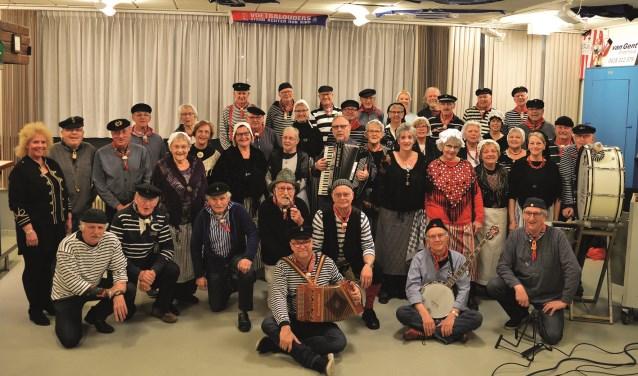 Shantykoor De Brulboei viert dit jaar het 15-jarig bestaan.