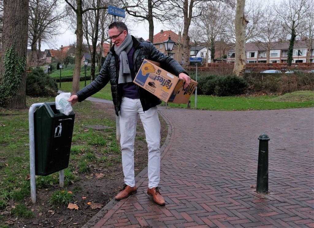 Cornelis Mosterd (Jumbo) deed ook mee.  © Persgroep