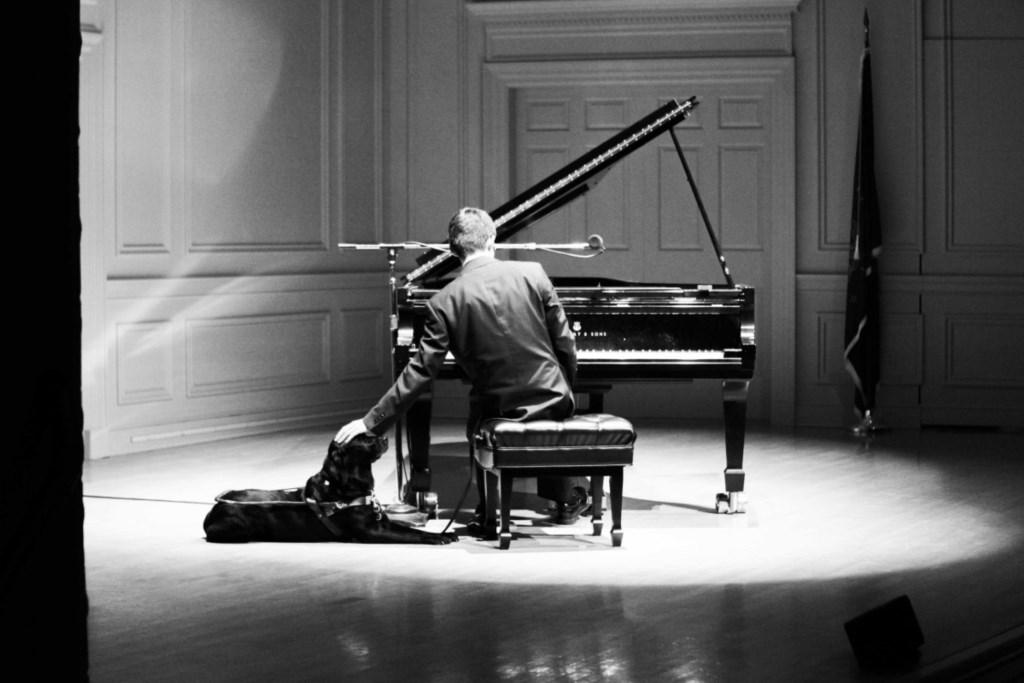Justin Kauflin Foto: Amanda Reynolds © Persgroep