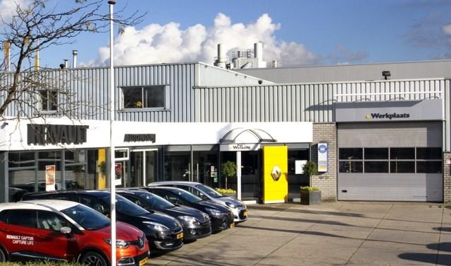 De voormalige Auto Indumij vestiging Hardinxveld-Giessendam. (Foto: Privé)