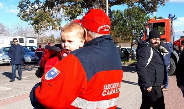 Hulpdiensten brengen Lucas in veiligheid
