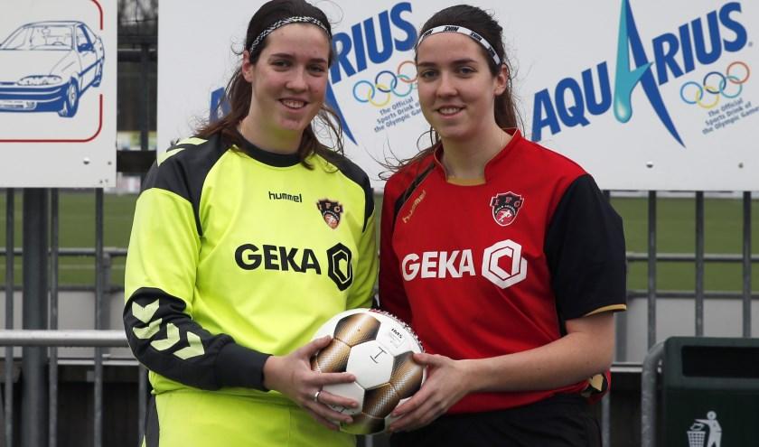 Kim (links) en Clarissa Buijs: op vele fronten actief voor IFC.