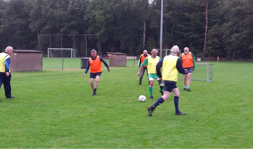 Spelers bij Walking Football