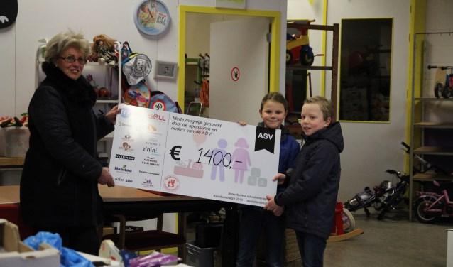 Ieder jaar voor de kerstvakantie zoekt de ASV Daltonschool een goed doel waarvoor geld wordt ingezameld.