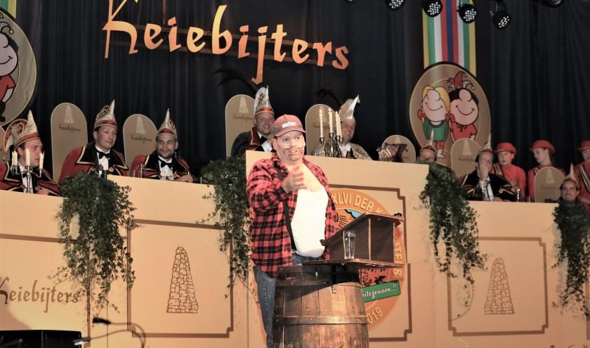 John van Bree in zijn rol van Ton Rukker. Foto: Harrie van der Sanden.