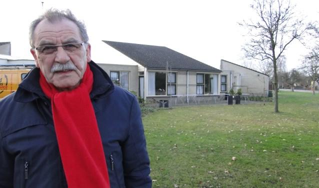 Reinier Hartgers heeft flinke bezwaren tegen de plannen voor het dorpsplein.