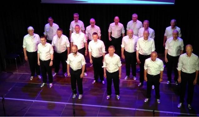 Het Herenakkoord tijdens een optreden vorig jaar in München. Het koor zoekt de komende tijd nieuwe leden tijdens workshops. (foto: PR)